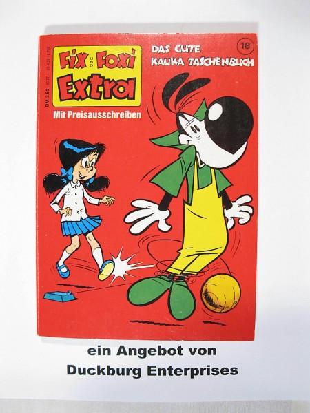 Fix und Foxi Extra Taschenbuch Nr. 18 in Z (1) Kauka 41676