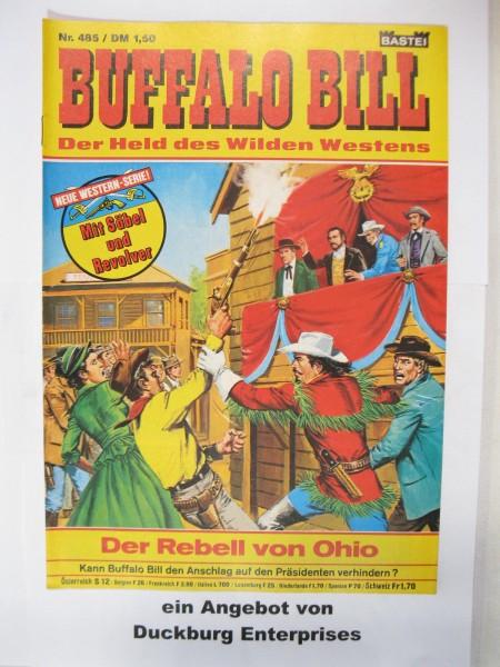 Buffalo Bill Nr. 485 Bastei Verlag im Zustand (1) 48834