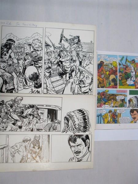Silberpfeil Originalseite 14 aus Heft 287 Frank Sels mit Farbkopie 72793