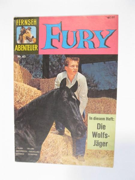 Fernsehabenteuer Fury Nr. 63 Tessloff Vlg. im Z (1-2). 93311