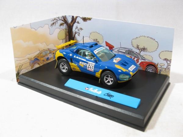 Michel Vaillant Auto Cairo Metall Diorama 1:43 85289