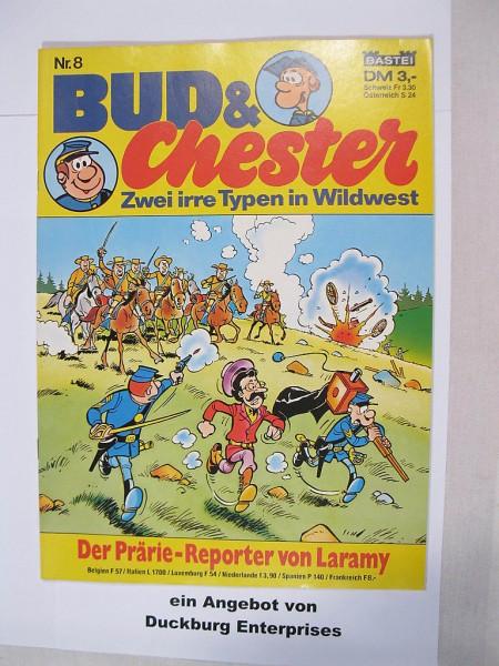 Bud und Chester Nr. 8 - die blauen Boys - Bastei Verlag im Z (0-1/1) 28426