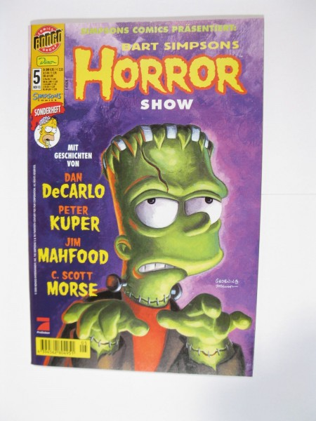 Bart Simpsons Horror Show Nr. 5 Dino Verlag im Zustand (0-1). 96073