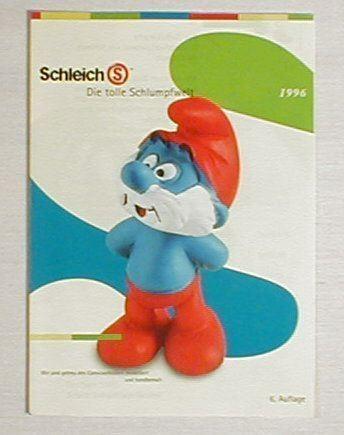 Schlumpf Sammelprospekt 1996 smurf smurfs Schleich