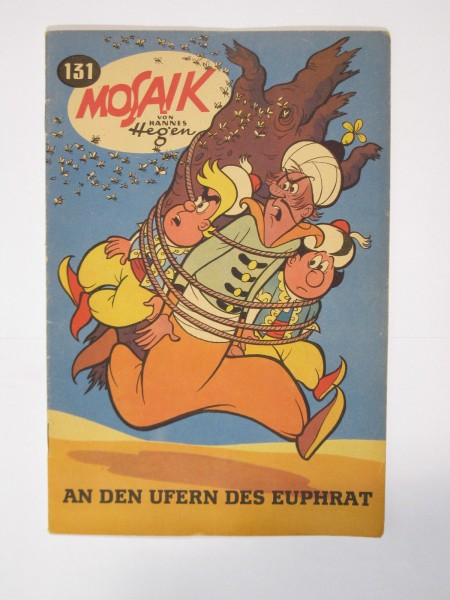 Mosaik DDR Comic Nr. 131 Vlg. Junge Welt im Zustand (1). 64857