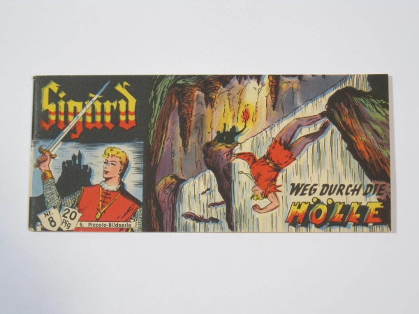 Sigurd Nr. 8 Lehning Piccolo 1. Serie im Zustand (1/1-2) 53074