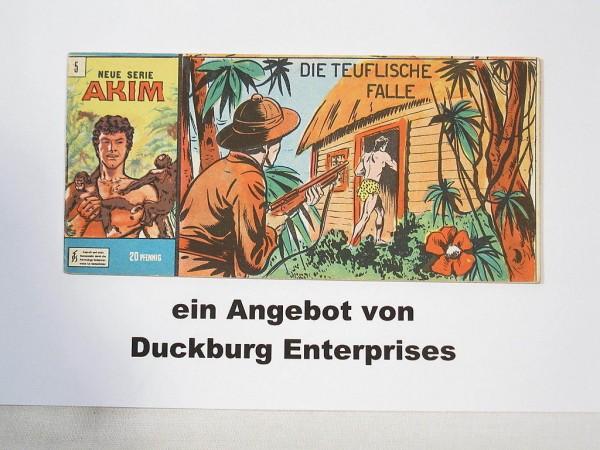 Akim Neue Serie Nr. 5 Bozzesi Verlag Piccolo im Z (1) 42064