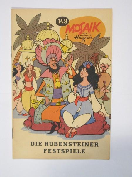 Mosaik DDR Comic Nr. 149 Vlg. Junge Welt im Zustand (1-2). 64867