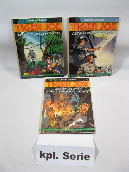 3x Tiger Joe kpl. Serie Comicplus 1990 im Z (1/1-2). 93773