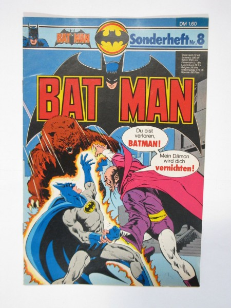 Batman Sonderheft Nr. 8 Ehapa im Zustand (1 oS). 66383