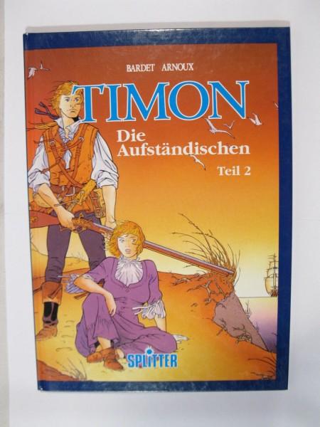 Timon Nr. 2 im Zustand (1) HC Comic Splitter Vlg. limitiert 98363