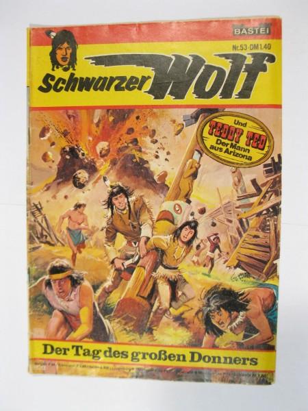 Schwarzer Wolf Nr. 53 Bastei im Zustand (2-3). 94127