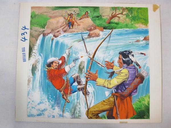 Buffalo Bill Cover Nr. 434 Originalzeichnung von Gonzales 46552