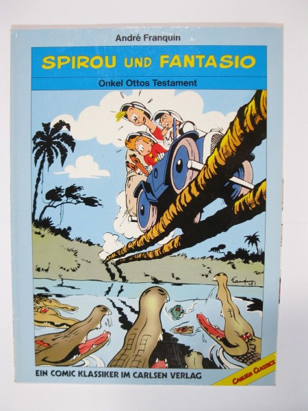 Spirou Classics Onkel Otto Carlsen 1. Auflage 50597