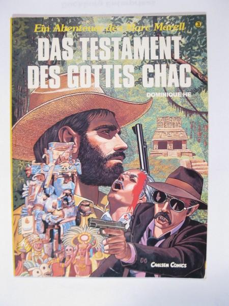 Abenteuer des Marc Marell Nr. 3 Carlsen Comic im Zustand (1) 79365