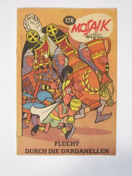 Mosaik DDR Comic Nr. 126 Vlg. Junge Welt im Zustand (1/1-2). 98599