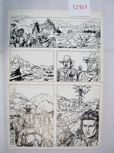 Silberpfeil Originalseite 7 aus Heft 366 Frank Sels (32967)