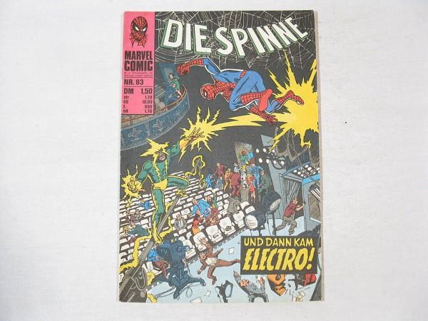 Spinne Nr. 83 Marvel Comic Williams Z (1-2) 34749