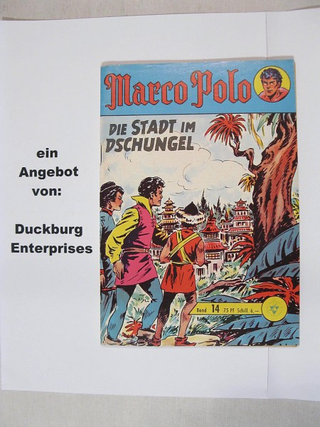 Marco Polo Nr. 14 Comic Lehning Verlag 39833