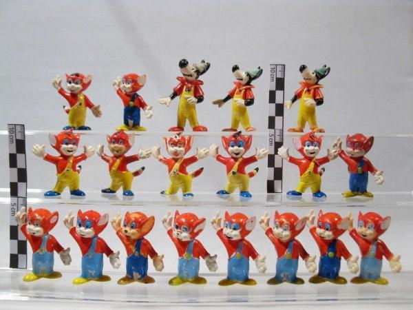 Looney Tunes  6 Figuren  Fußball Fans  Oranje Team  60082 Comicfiguren Bugs Bunny