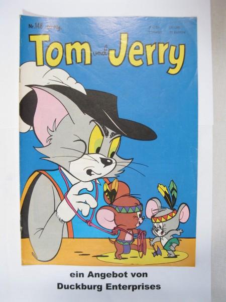 Tom und Jerry Nr. 148 Tessloff Verlag im Zustand (2) 47152