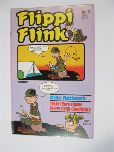 Flippi Flink / Beetle Bailey Nr. 2 Semic Vlg. im Zustand (1-2). 111757