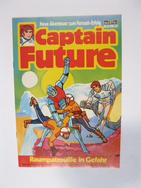Captain Future Nr.12 Bastei im Zustand (0-1). 83523