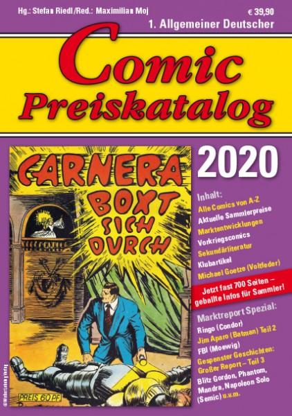 Comic Preiskatalog 2020 HC Preise für Micky Maus, Sigurd, Nick, Superman...