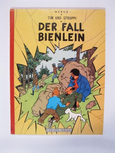 Tim und Struppi Fall Bienlein in 2.Aufl.1969 im Zustand (1-/1-2) Carlsen 98307