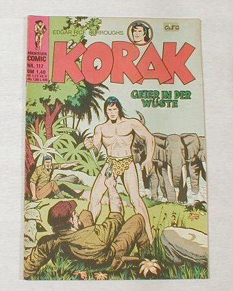Korak, Tarzan Sohn Nr. 117 (BSV Verlag ab 1967) 6000