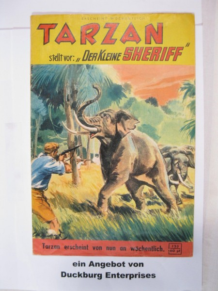 Tarzan Großband Nr. 123 Mondial Verlag im Zustand (2-3) 46628