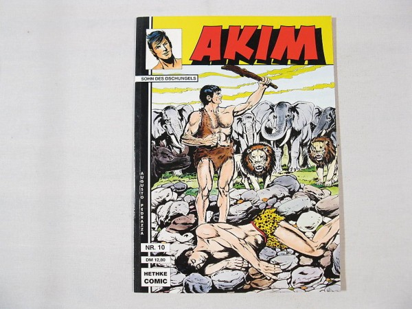 Akim Sohn Softcover Nr.10 Comic Hethke Verlag 24698