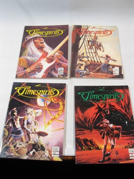 4x Timespirits Nr. 1-4 kpl. im Zustand (1) Hethke Comic 98593