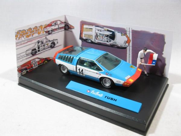 Michel Vaillant Auto Rush Metall Diorama 1:43 85297