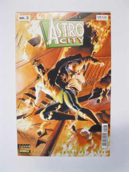 Astro City Nr. 3 Comic Tilsner / Speed Verlag 99013