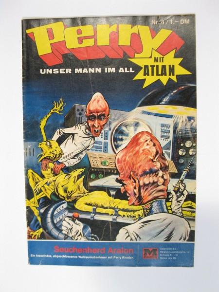Perry Mann im All Nr. 4 Moewig Verlag im Zustand (2). 73499