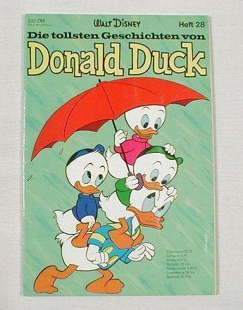 Tollsten Geschichten Donald Duck 28 (Ehapa) 7439 in Z 1