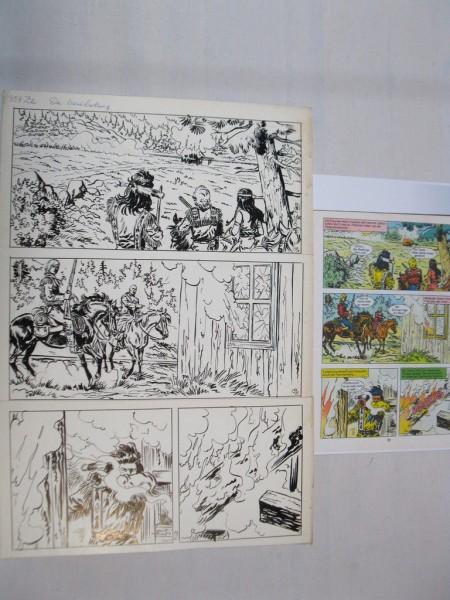 Silberpfeil Originalseite 19 aus Heft 287 Frank Sels mit Farbkopie 72797