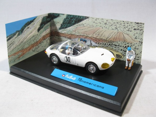 Michel Vaillant Auto Panamericana Metall Diorama 1:43 85293