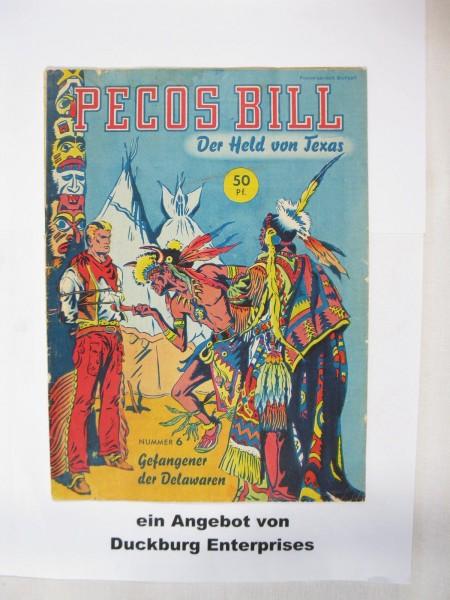 Pecos Bill Nr. 6 Mondial Verlag im Zustand (2) 47258