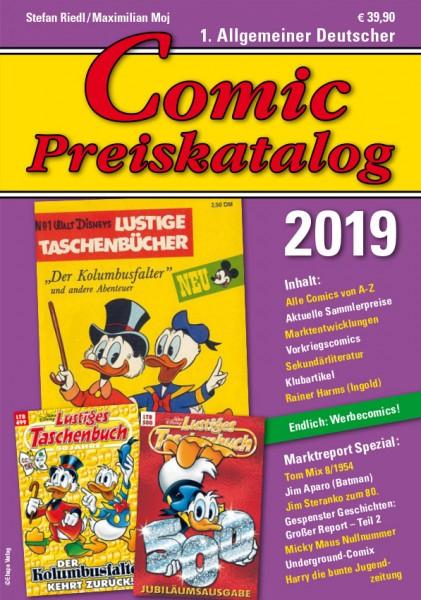 Comic Preiskatalog 2019 HC Preise für Micky Maus, Sigurd, Nick, Superman...