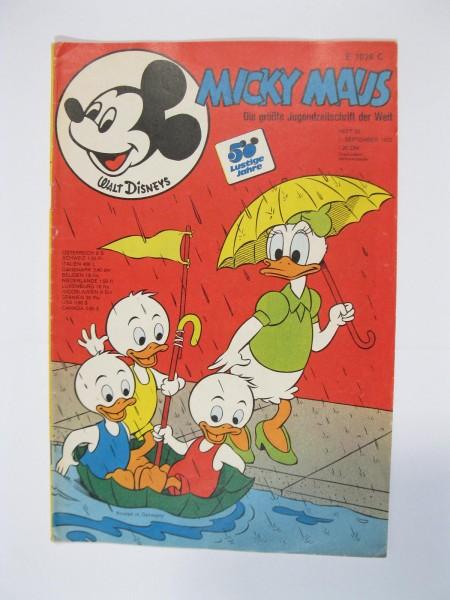Micky Maus 1973/35 Originalheft vom 1.9.1973 in Z (1-2 oS) 51666