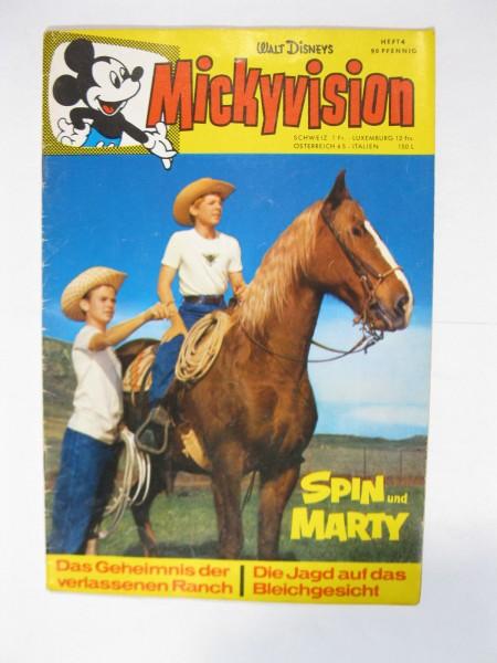 Mickyvision / Micky Vision 1963/ 4 Ehapa Verlag im Zustand (1-2/2). 79461