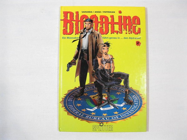 Bloodline Nr. 2 HC Comic Splitter Verlag 24745