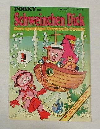 Porky / Schweinchen Dick Nr.66 Comic ab1972 17529