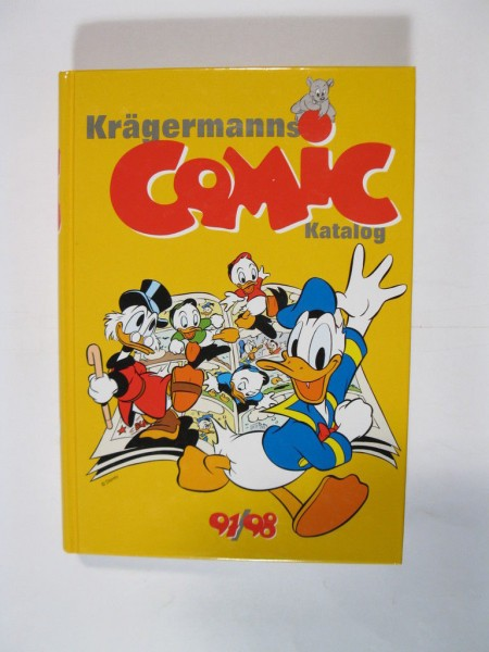 Comic Lexikon / Katalog von Krägermann Sekundärliteratur im Zustand (0-1) 72757