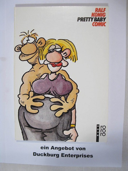 Pretty Baby Comic von Ralf König RoRoRo Vlg. 28441