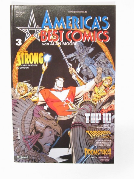 Americas Best Comic Nr. 3 Tilsner / Speed Verlag 99003