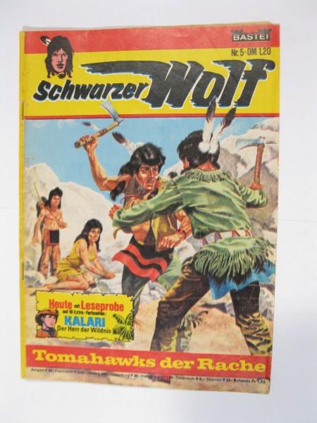 Schwarzer Wolf Nr. 5 Bastei im Zustand (2-3). 94115
