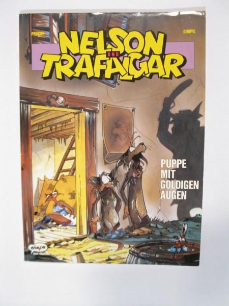 Nelson und Trafalgar Nr. 1 im Zustand (2) Ehapa Comic 98073
